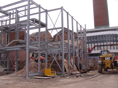 complex and high profile church demolition was in Shrewsbury town centre for a private developer. The project included asbestos